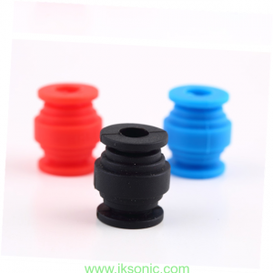 silicone rubber spiral vibration damper