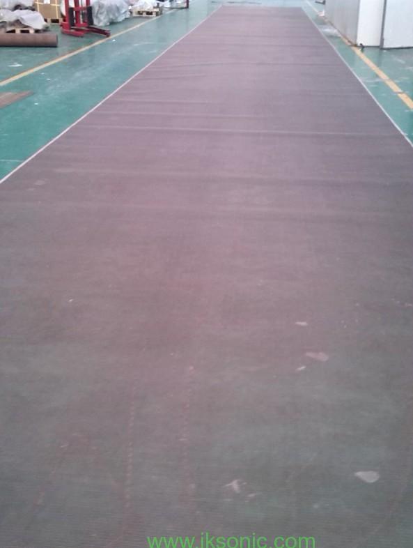 4 meters width kevlar mesh from www.iksonic.com