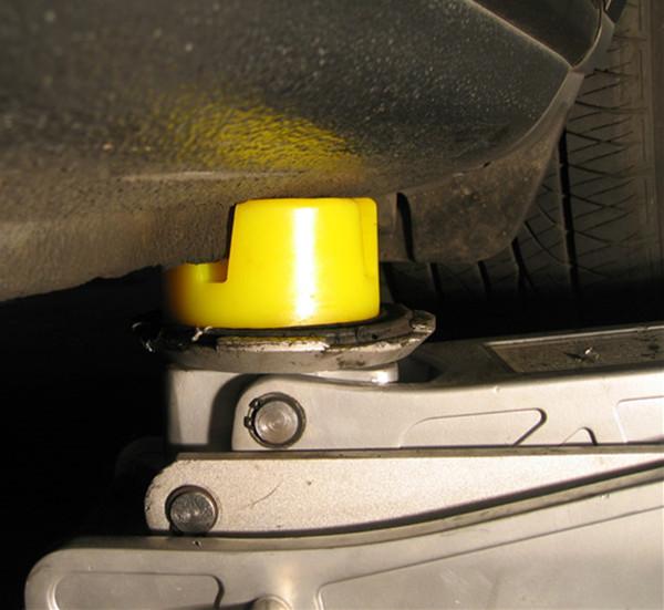 Audi car jack pad protech side rubber jack pad polyurethane pad1