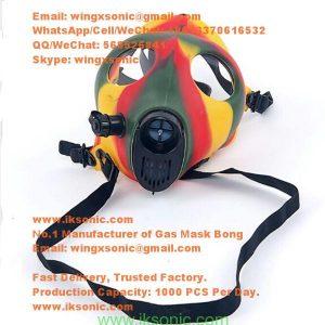 gas mask bong smoking mask bong for sale smoke face mask water pipe gas mask water bong www.iksonic.com