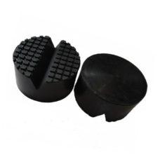 Rubber block pad for floor jack Rubber Jack pad diameter 100mm V groove car jack lift