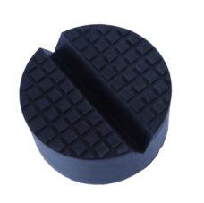 Rubber Jack Pad V Groove round rubber jack pad with slot v groove for floor jack
