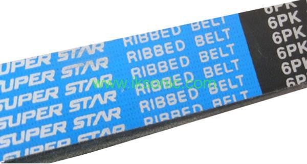dongil super star ribbed belt power transmission belt 6PK 1700 V belt