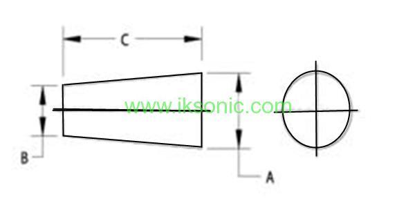 molded rubber plug drawing silicone rubber EPDM viton ffkm rubber cone plug