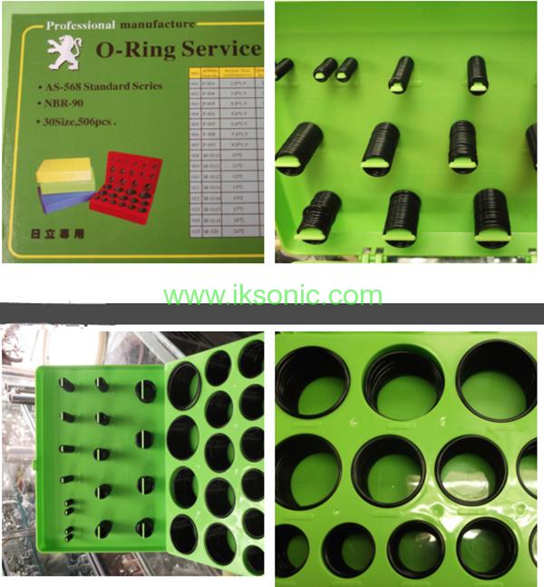 OEM Hitachi O ring kit Rubber Seal repair kit construction machinery ...