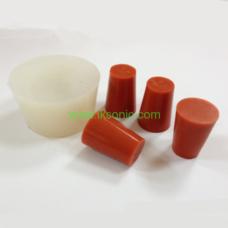 Silicone EPDM NBR Rubber Cone Plug Stopper standard custom silicone rubber EPDM viton ffkm rubber cone plug