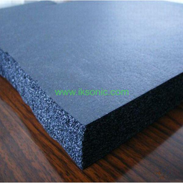 Food Grade Red Silicone Rubber Sponge Foam Sheetiksonic