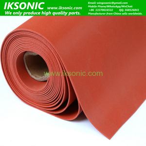 Food Grade Red Silicone Rubber Sponge Foam sheet