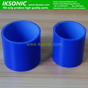 High Temperature Blue Straight Automotive Coolant Silicon Rubber Tube for Auto