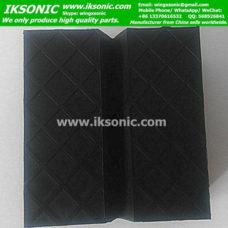 Square rubber jack pad