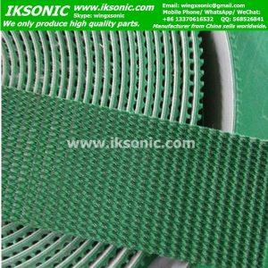 5mm thickness green grass conveyor belt pvc conveyor belt factory
