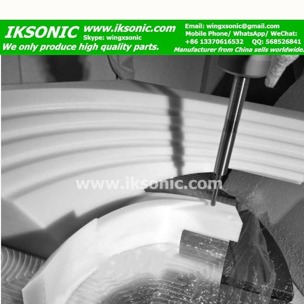 PTFE parts cnc machining teflon parts