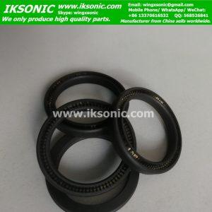 Spring seal ptfe carbon china factory V Spring Lip Seals
