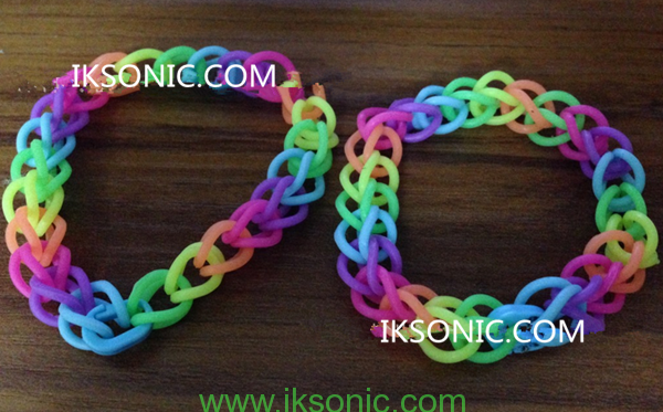 Hand Made Silicone O Ring Bracelet Necklace Jewelry Diy