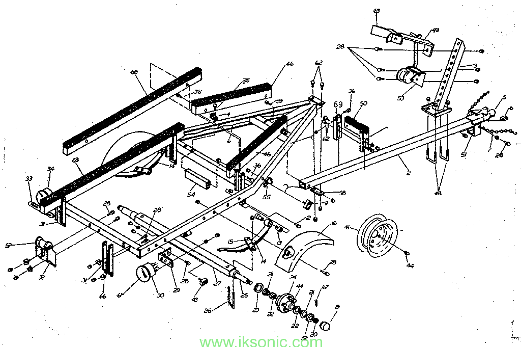 Boat Trailer Parts