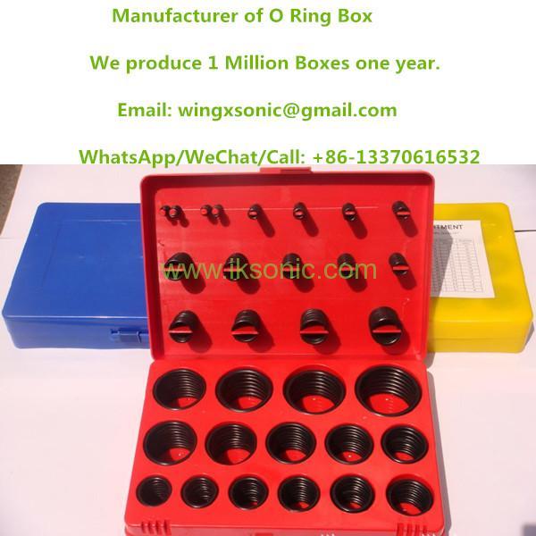 Rubber O Ring Set Seal Repair O Ring Box Automotive