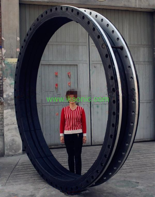 Dn2600 Large Diameter Rubber Seal Coupling Joint Steel