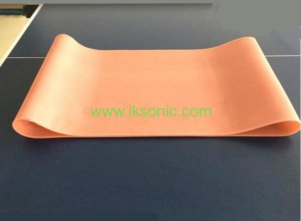 Silicone Conveyor Belt White Transparent Clear