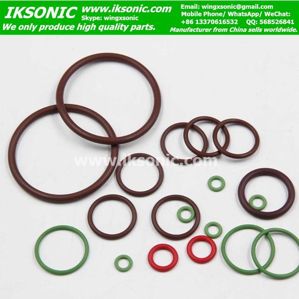 10 Stk Viton® 200°C O-Ring Rundring Dichtring 9x2-9,00 x 2,00 mm FPM FKM